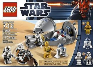 LEGO STAR WARS 9490 DROID ESCAPE BRAND NEW IN BOX 4 MINI FIGS 137