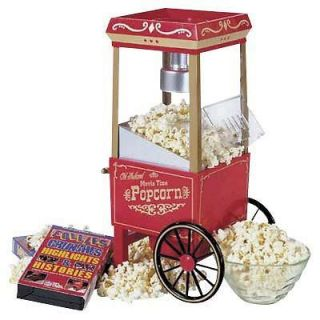 Nostalgia Electrics Mini Movietime Popcorn Popper   NEW