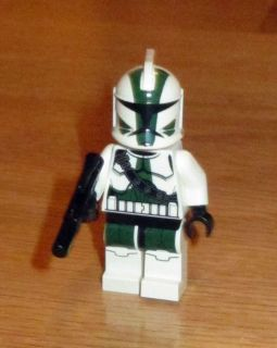 LEGO STAR WARS 9491   CLONE COMMANDER GREE Minifig New Green