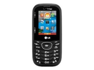 Verizon LG Cosmos 2 VN251 Cell Phone Slider Dark Grey/Black Used Good