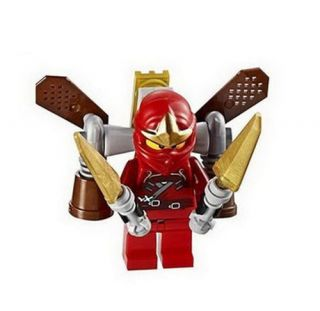LEGO NINJAGO KAI ZX MINIFIG with JET PACK minifigure red ninja NEW