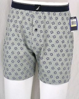 Nautica LIFESAVER Life Ring Saver Sail Mens Boxer Shorts Underwear