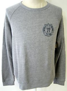 OBEY FULL SPEED EVIL DEEDS MENS CREWNECK SWEATSHIRT ANCHOR ART NWT HTR