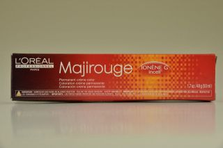 Oreal Professional Majirouge Ionene G Salon Hair Color Lots of Red