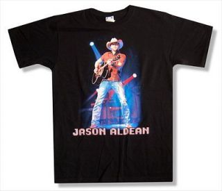 JASON ALDEAN   LIVE TOUR 2010 EAU CLAIRE T SHIRT   NEW ADULT X LARGE