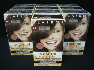 Natural Instincts Non Permanent Hair Color 24 Clove Medium Ash Brown