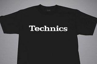 TECHNICS LOGO DJ T SHIRT VARIOUS COLORS SIZES M 2XL TECHNICS 1200