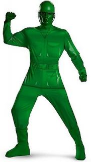 Green Army Man Toy Story Pixar Military Soldier Dress Up Halloween
