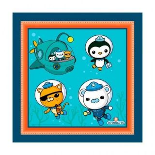 Octonauts Party Lunch Napkins x 16