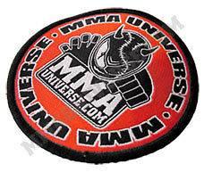 MMA Universe Logo Patch (Small)   Red [MMA UFC GI Brazilian Jiu Jitsu
