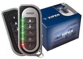 Viper 5701 5202 2 way paging alarm & remote start keyless entry with