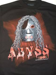 ABYSS Fear the Mask TNA Wrestling T shirt