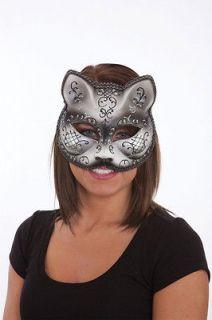 Mardi Gras Cat Mask Venetian Cat Mask Mardi Gras Costume Mask 24897