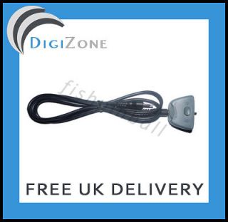 V2 AX720 AX180 2.5MM TO 3.5MM XBOX LIVE WIRE CABLE LEAD PUCK SPARE