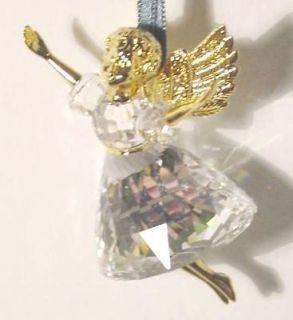 SWAROVSKI CRYSTAL CHRISTMAS MEMORIES 1996 ANGEL ORNAMENT NEW LE