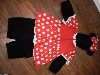 Disneyland Exclusive Minnie Mouse Mickey Costume 18 24 Months 2T