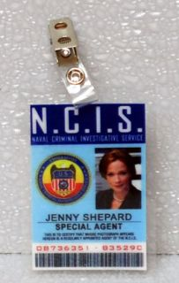 NCIS TV Series ID Badge Special Agent Jenny Shepard