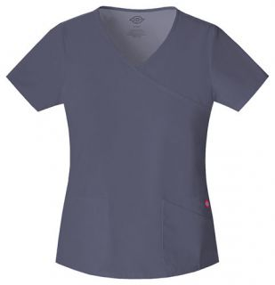 Dickies Soft Works Medical/Dental Uniform Scrubs Top Shirt PICK COLOR