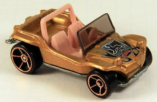 FTE Variation MEYERS MANX dune buggy 2005 #139 gold loose Hot Wheels