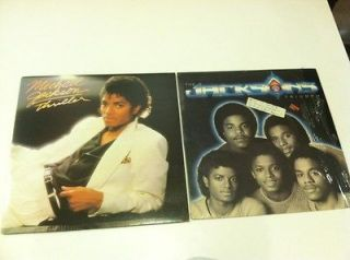 MICHAEL JACKSON THRILLER & The JACKSONS TRIUMPH 5 LPVinyl Album