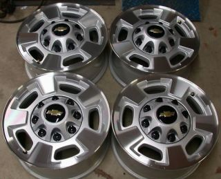 NEW 2011 13 Chevy Silverado GMC Sierra 2500 3500 8 Lug 17 OEM Wheels