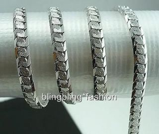 mens white gold necklace in Chains, Necklaces
