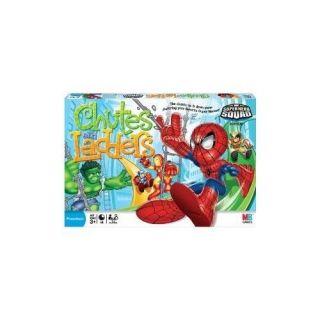 Chutes and Ladders   MARVEL SUPERHERO SQUAD   Spiderman Wolverine Iron