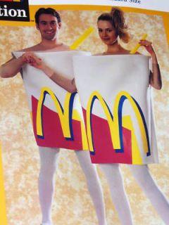 McDONALDs Milkshake MILK SHAKE Costume ADULT Standard