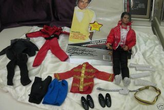 Michael Jackson Vintage American Music Awards Doll Clothes Shoes