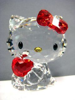 HELLO KITTY RED APPLE 2011 SWAROVSKI #1096878