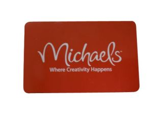 Newly listed $ 310 Michaels Gift Card Arts Crafts Return Card