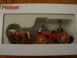 HO #30428 Emergency   Horse Drawn Fire Equipment    Steam Pumper