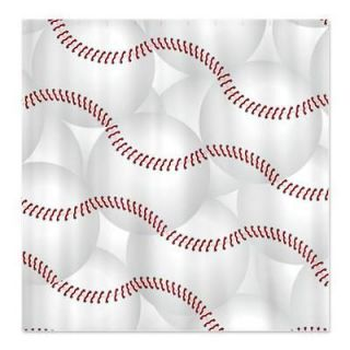 Baseball Sports Shower Curtain by CafePress 647027546