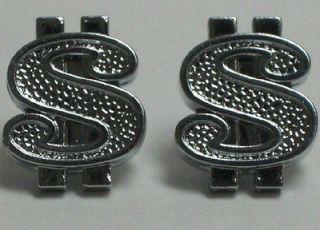 Chrome Money Custom Valve Stem Caps for Motorcycle & Car Wheel Rims