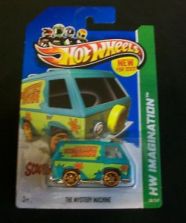 HTF 2012 HOT WHEELS NEW MODELS SERIES 38/50 SCOOBY DOO MYSTERY MACHINE