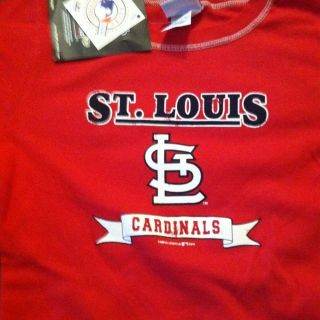 Womens St. Louis Cardinals Pujols Tee Shirt NWT Size Small