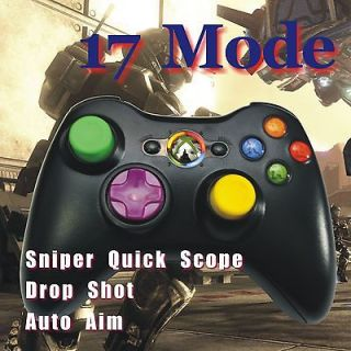 controller Rapid Fire Modded Customized Black Controller 17 Mod New