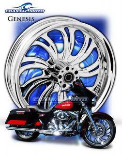 Coastal Moto Genesis M109R Chrome Motorcycle Wheels PM