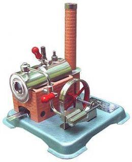 VINTAGE MARVINDUSTRIES ROBERT FULTON LINE LIVE STEAM ENGINE MODEL NR