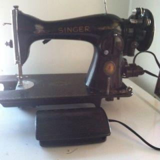 Vintage Singer Sewing Machine 1951 Centennial Anniversary Edition