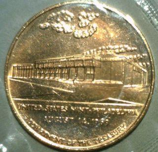 1969 Philadephia United States Mint Commemorative Bronze Medal August