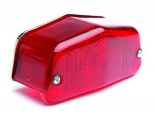 MOTORCYCLE REAR LIGHT UNIT FITTED STOP TAIL BULB   CUSTOM BOBBER
