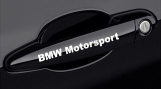 BMW Motorsport Door Handle Decal sticker E36 E46 E60 325 emblem logo