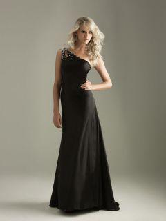 nwt Night moves Prom Dress Black sz.14 #6257 prom dress