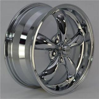 17x7.5 Chrome 5 Spoke Wheels Rims 5x110 mm lug pattern for Chevy HHR