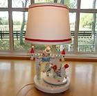 Vtg~IRMI~Nursery~Kid~Baby~Wooden~Musical Soldier Lamp~Humpty Dumpty