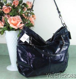 coach handbags navy blue in Handbags & Purses