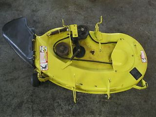 used john deere mower decks