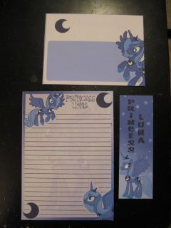Princess Luna (season 1) stationary My Little Pony Friendship is Magic