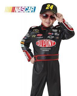 Kids Boys Jeff Gordon Nascar Racecar Driver Halloween Costume